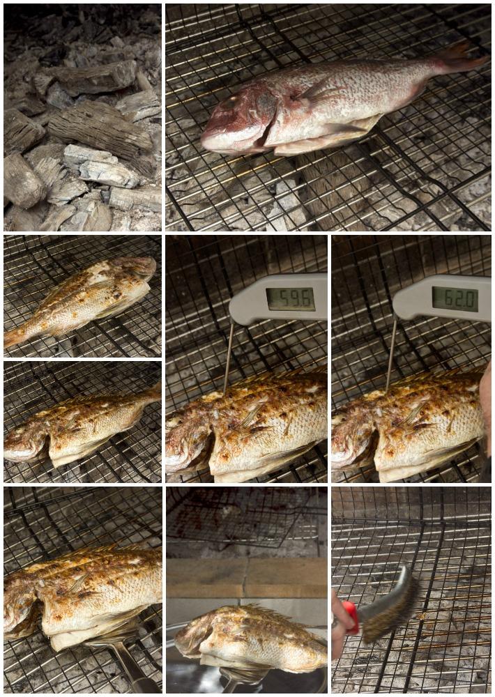 τεχνική - μυστικά για ψαρι ψητό στα κάρβουνα